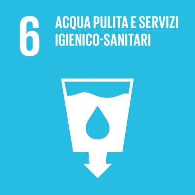 Obiettivo 6 - Acqua pulita e servizi igienico sanitari