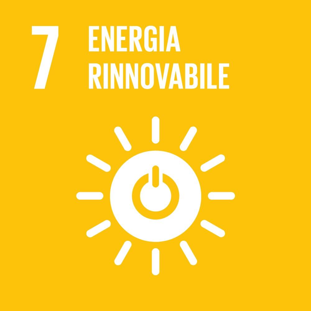 Obiettivo 7 - Energia rinnovabile