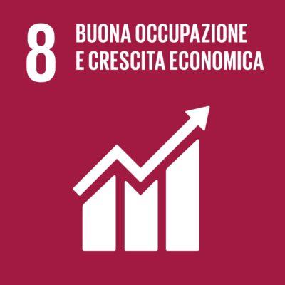 Obiettivo 8 - Buona occupazione e crescita economica